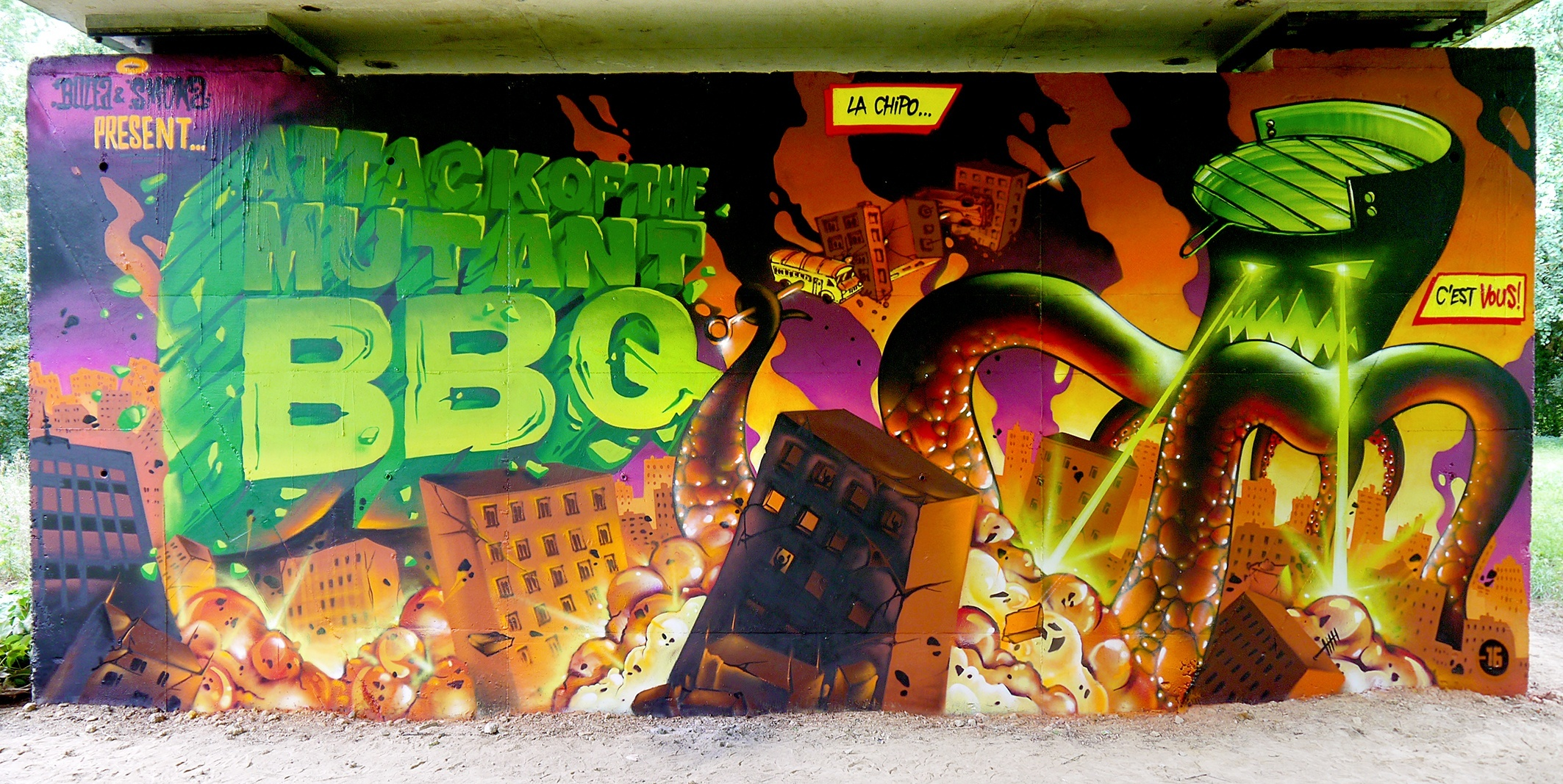 ATTACK OF THE MUTANT BBQ