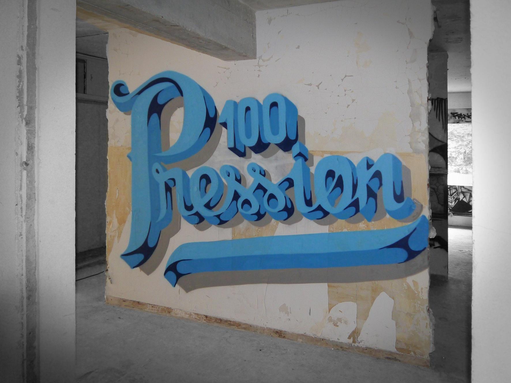 100 PRESSION LETTERING